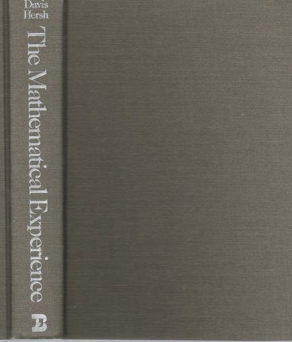 9783764330187: The Mathematical Experience
