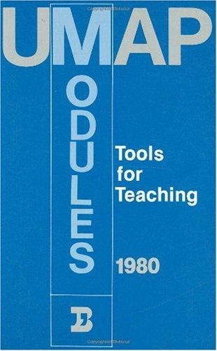 9783764330590: Umap Modules, 1980: Tools for Teaching
