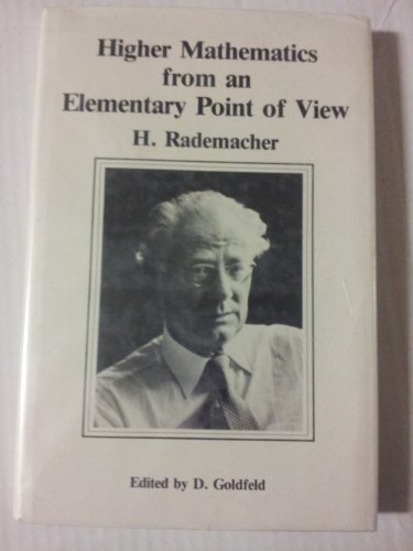 9783764330644: Higher Mathematics from an Elementary Point of View