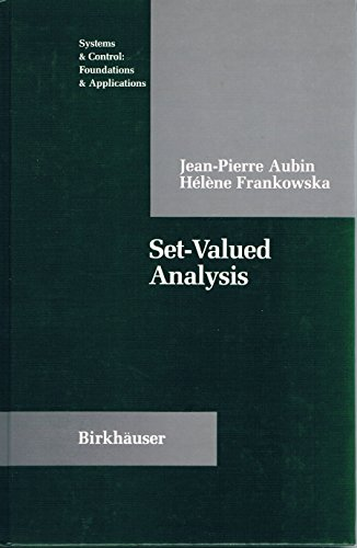 9783764334789: Set-valued Analysis (Systems & Control)