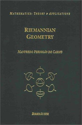 9783764334901: Riemannian Geometry (Mathematics: Theory and Applications)