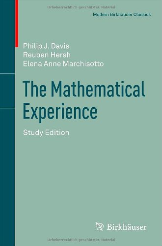 The Mathematical Experience (3764337397) by Davis, Philip J.; Hersh, Reuben; Marchisotto, Elena Anne