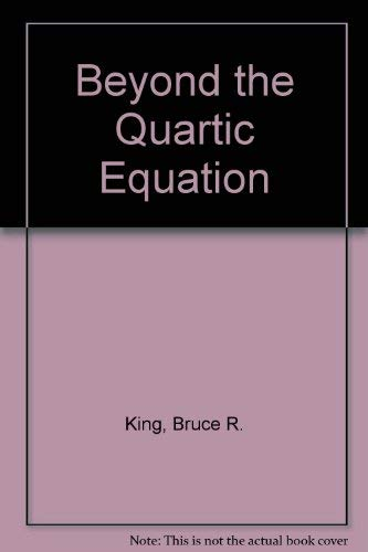 9783764337766: Beyond the Quartic Equation