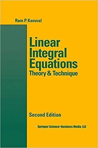 9783764339401: Linear Integral Equations