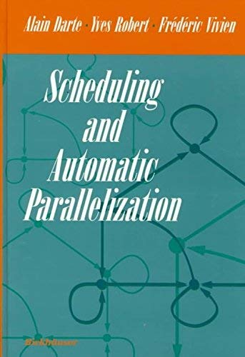 9783764341497: Scheduling and Automatic Parallelization