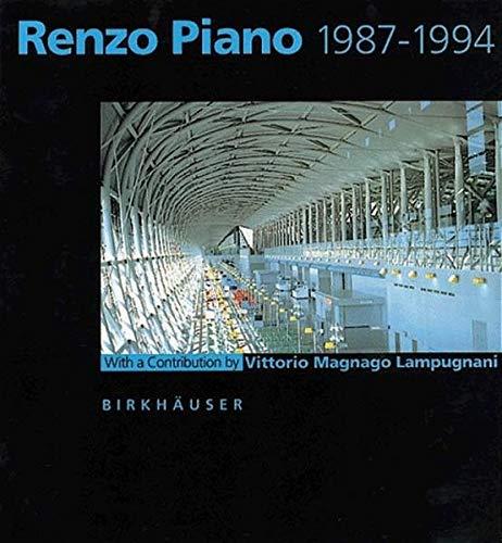 9783764351595: Renzo Piano 1987 - 1994 (Series)