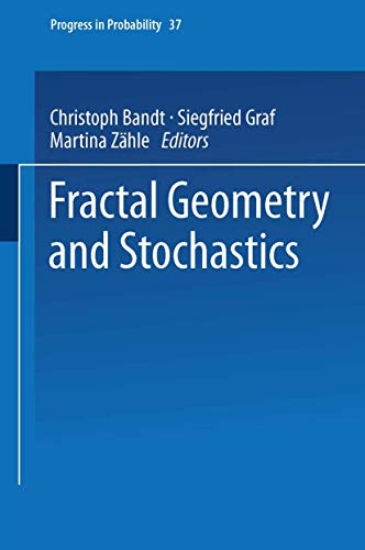 9783764352639: Fractal Geometry and Stochastics (Progress in Probability)