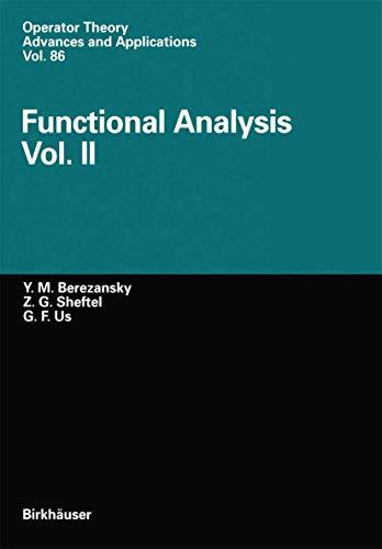 9783764353452: 2: Functional Analysis