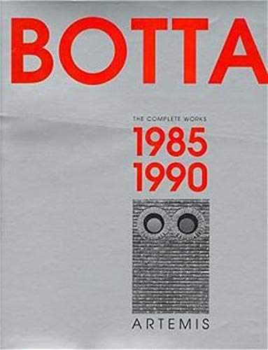 9783764355388: Mario Botta - Volume II:: 1985 - 1990 (Vol 2)