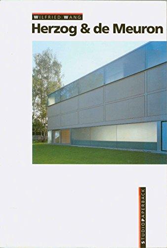 9783764355890: Herzog & de Meuron (Studio Paperback) (Studio paperbacks)
