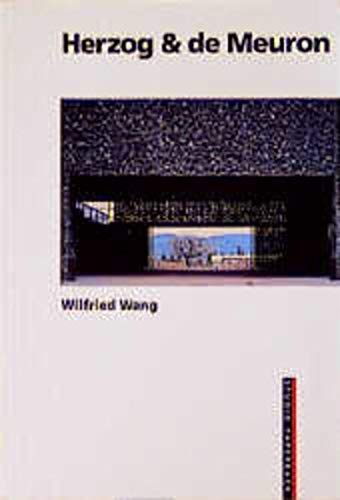 9783764356170: Herzog & de Meuron (Studio Paperback) New and Revised Edition (German and English Edition)
