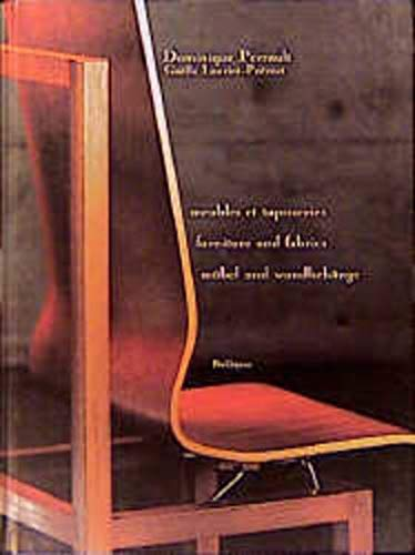 9783764356613: Dominique Perrault : Furniture and Wall