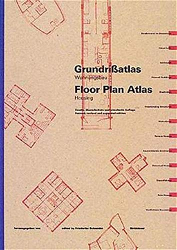 9783764356651: Floor Plan Atlas = Grundrissatlas: Housing = Wohnungsbau