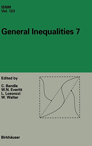 General Inequalities 7: 7th International Conference at