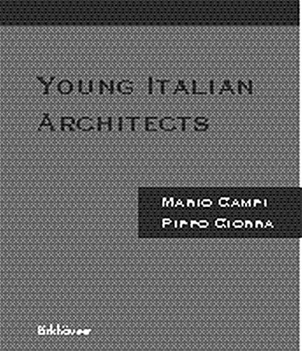 Young Italian Architects (English and Italian Edition)