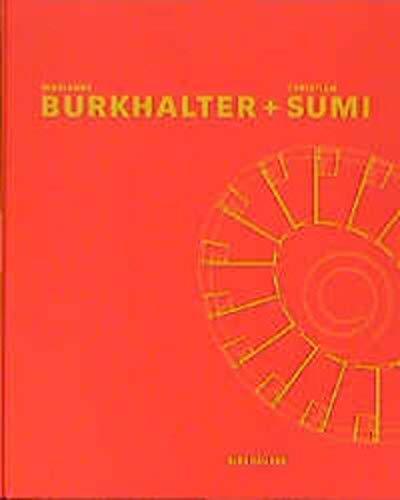 9783764359287: Marianne Burkhalter + Christian Sumi