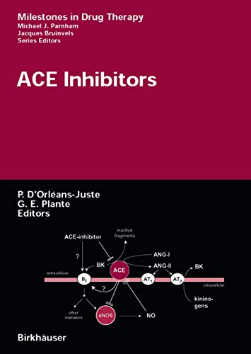 9783764359829: ACE Inhibitors (Milestones in Drug Therapy)