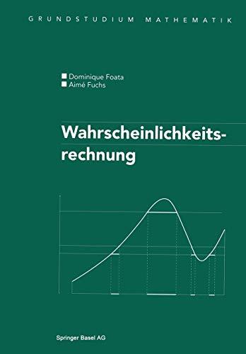 9783764361693: Wahrscheinlichkeitsrechnung (Grundstudium Mathematik) (German Edition)