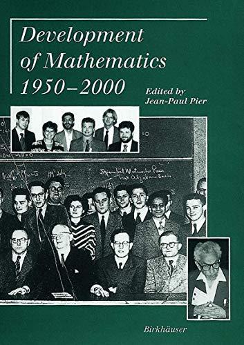 9783764362805: Development of Mathematics 1950 - 2000