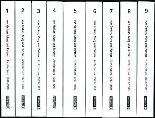 9783764364571: Von Gerkan Marg Und Partners Architecture 1966-1999 - Pocket ed. (Vol 1-7/Paperback) /Anglais/Allema