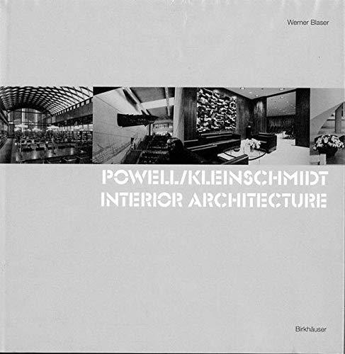 Powell / Kleinschmidt: Interior Architecture: Blaser, Werner