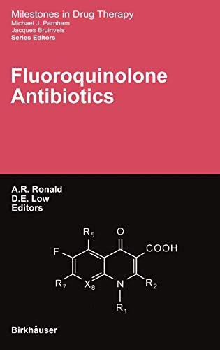 9783764365912: Fluoroquinolone Antibiotics (Milestones in Drug Therapy)