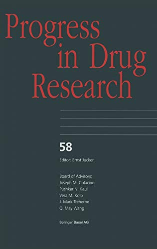 Progress in Drug Research: Ernst M. Jucker