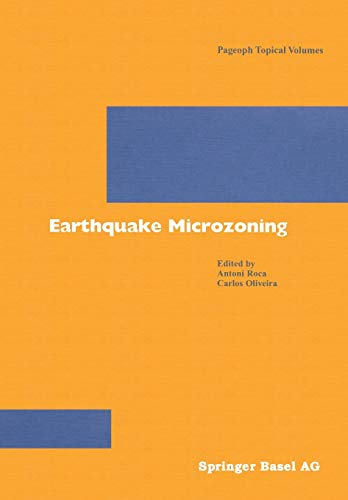 9783764366520: Earthquake Microzoning (Pageoph Topical Volumes)
