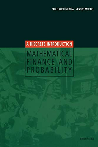 9783764369217: Mathematical Finance and Probability: A Discrete Introduction