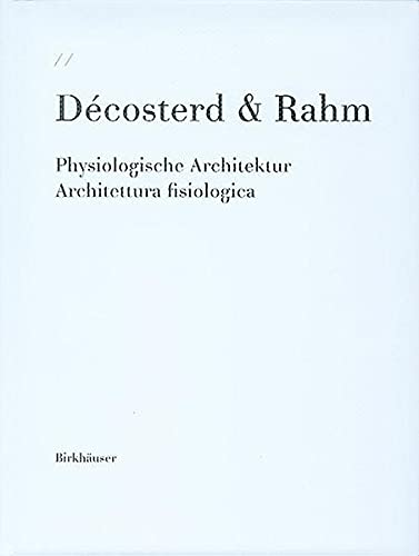 9783764369453: Decosterd & Rahm