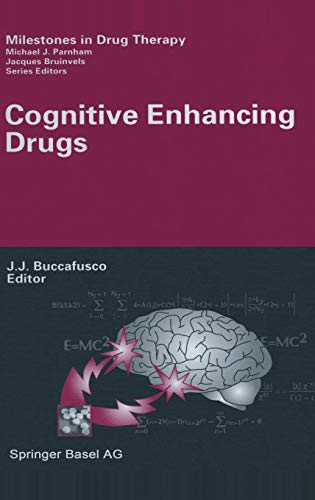 9783764369828: Cognitive Enhancing Drugs (Milestones in Drug Therapy)