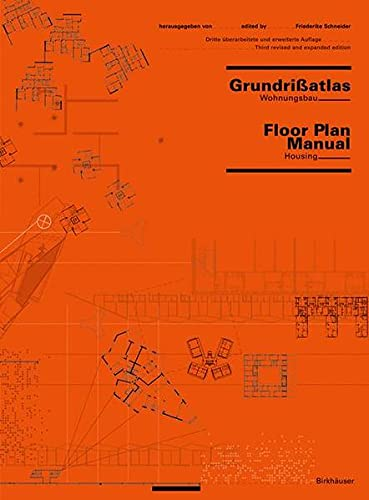 Grundrissatlas Wohnungsbau Floor Plan Manual Housing De Schneider Friederike Neu Hardcover 2004 3 Auflage Thomas Emig