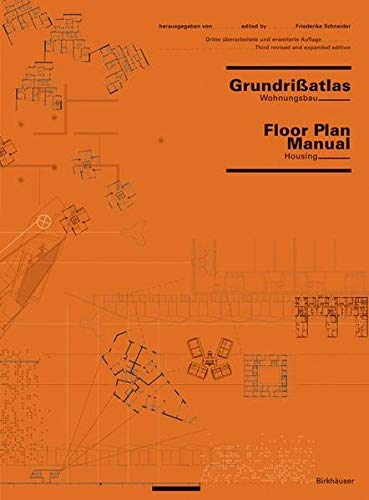 9783764370350: Grundrißatlas / Floor Plan Manual: Wohnungsbau / Housing (BIRKHÄUSER)