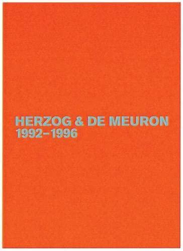 9783764371128: Herzog & de Meuron 1992-1996: The Complete Works (Volume 3)