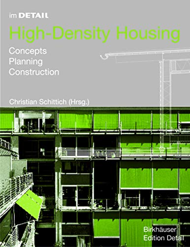 9783764371135: In Detail, High-Density Housing: Concepts, Planning, Construction