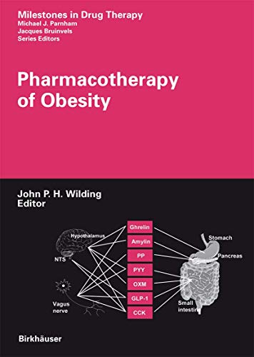 9783764371388: Pharmacotherapy of Obesity (Milestones in Drug Therapy)