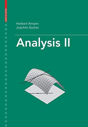 9783764374723: Analysis II