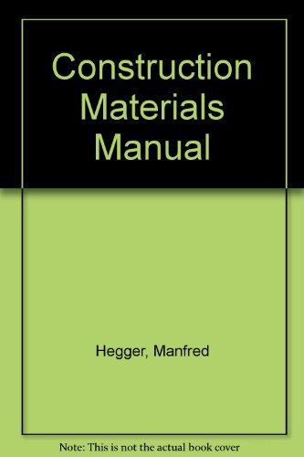 9783764375713: Construction Materials Manual