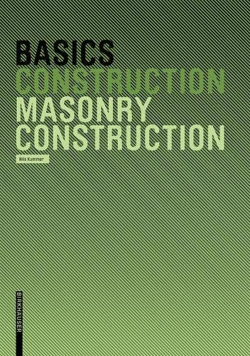 9783764376451: Basics Masonry Construction