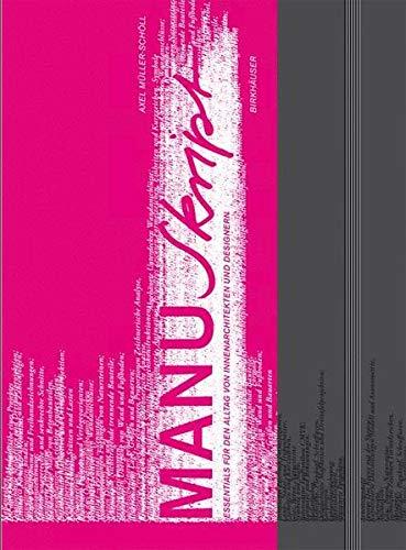 9783764378196: Manuskript (BIRKHÄUSER)