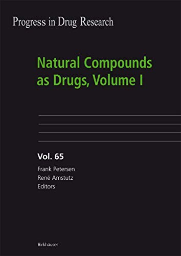 9783764380984: Natural Compounds as Drugs, Volume I (Progress in Drug Research)