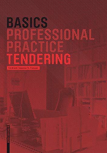 9783764381103: Basics Tendering (Basics (englisch))