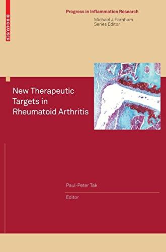 New Therapeutic Targets in Rheumatoid Arthritis: Paul-Peter Tak