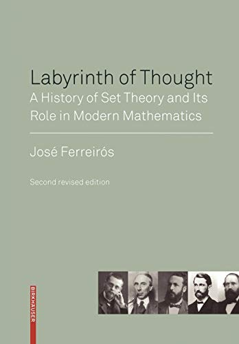 9783764383497: Labyrinth of Thought: A History of Set Theory and Its Role in Modern Mathematics