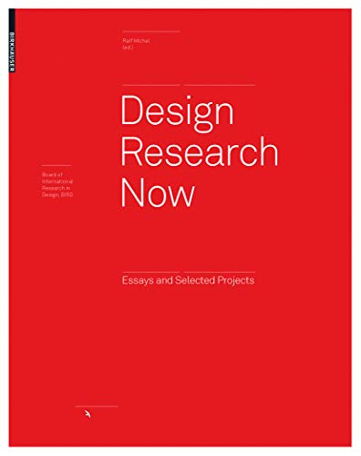 9783764384715: Design Research Now (Board of International Research in Design)