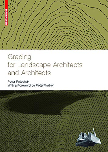 9783764385026: Grading for Landscape Architects and Architects