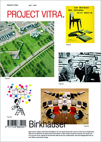 9783764385934: Project Vitra: Sites, Products, Authors, Museum, Collections, Signs: Chronology, Glossary