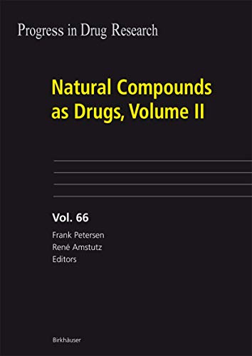 Natural Compounds as Drugs, Volume II (Hardcover)