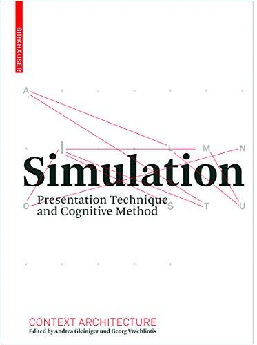 9783764386863: Simulation (Context Architecture)