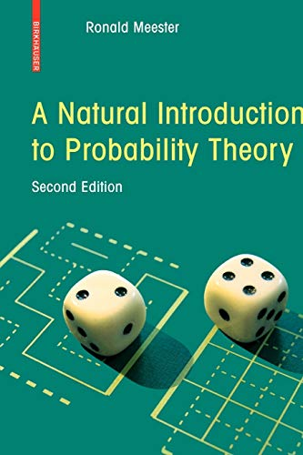 9783764387235: A Natural Introduction to Probability Theory